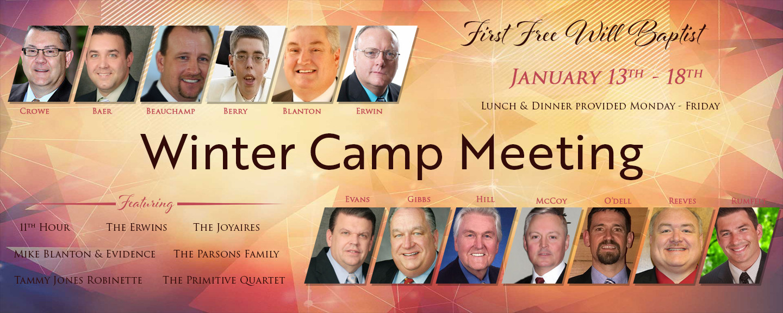 Camp Meeting 2019