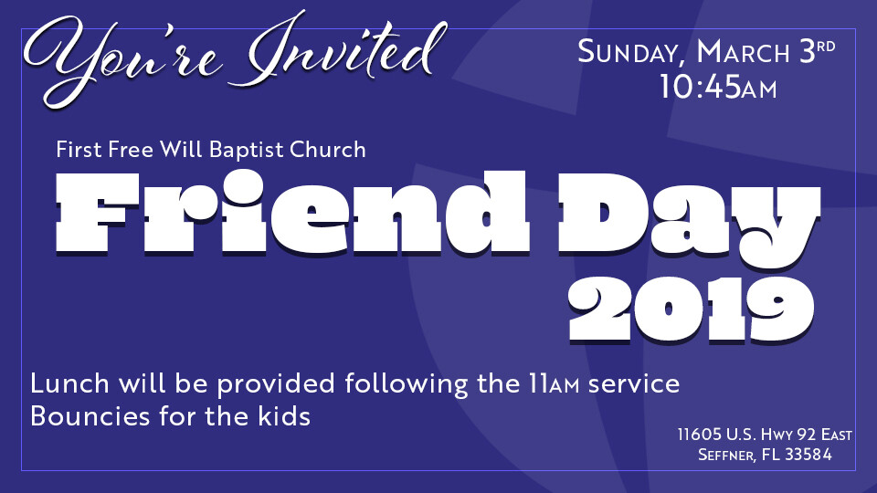 Friend Day 2019