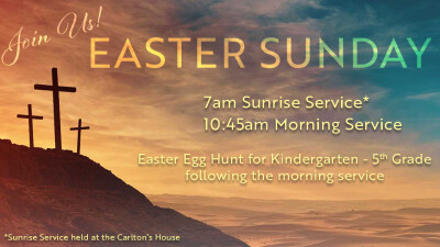 Easter Sunday - April 21