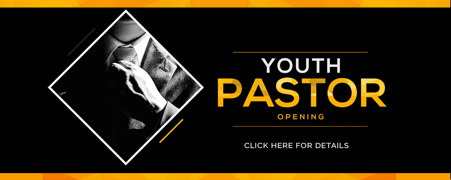 Youth Pastor Opening